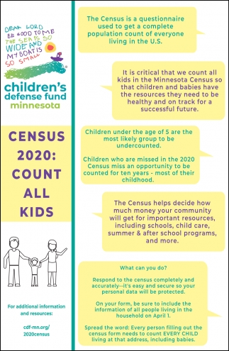 Census 2020: Count All Kids