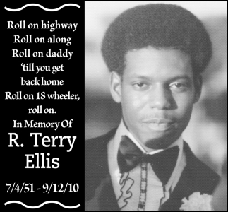 In Memory of R. Terry Ellis