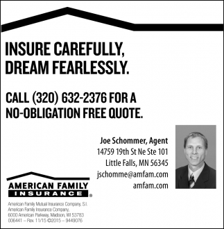 Insure Carefully, Dream Fearlessly