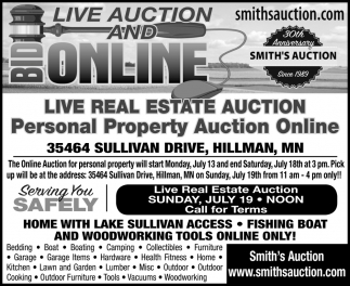 Live Real Estate Auction