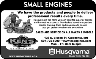 Sales and Service On All Makes & Models