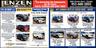 Hot Summer Buys at Lenzen Chev. - Buick