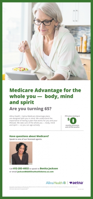 Medicare Advantage for the Whole You - Body, Mind and Spirit
