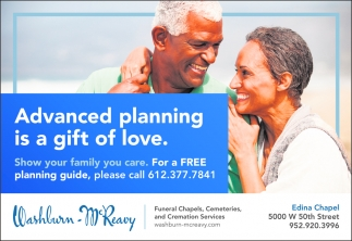 Advanced Planning is a Gift of Love