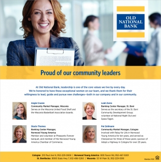 Proud of Our Community Leaders