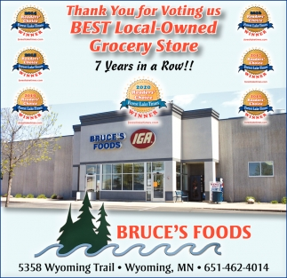Thank You for Voting Us Best Local-Owned Grocery Store