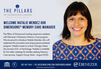 Welcome Natalie Mendez Our Dimensions Memory Care Manager