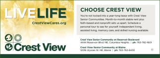 Choose Crest View