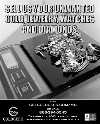 Sell Us Your Unwanted Gold, Jewelry, Watches and Diamonds