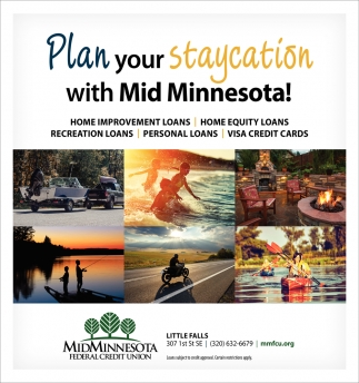 Plan Your Staycation with Mid Minnesota!