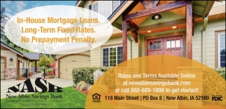 In-House Mortgage Loans