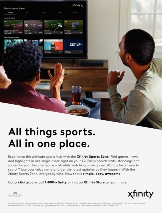 All Things Sports. All in One Place