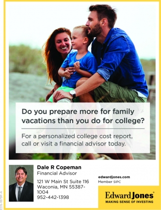 Do You Prepare More for Family Vacations than You Do for College?