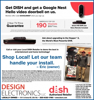 Get Dish and Get a Google Nest Hello Video Doorbell On Us