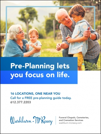Pre-Planning Lets You Focus On Life