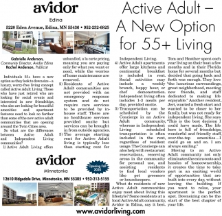 A New Option for 55+ Living