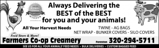 Always Delivering the Best of the Best for You and Your Animals!
