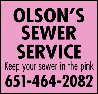 Keep Your Sewer in the Pink