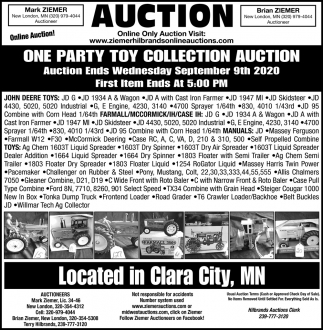 One Party Toy Collection Auction