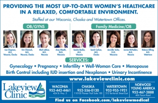 Providing the Most Up-to-Date Women's Healthcare in a Relaxed, Comfortable Environment
