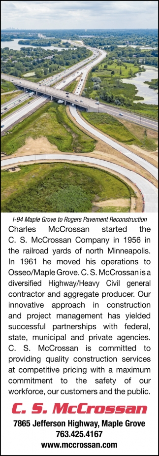 L-94 Maple GRove to Rogers Pavement Reconstruction