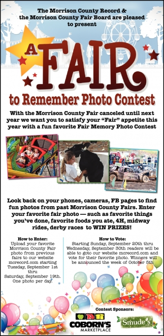 Fair to Remember Photo Contest