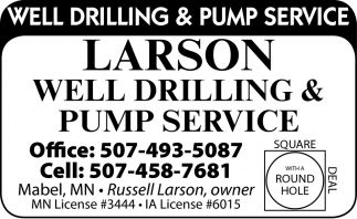 Well Drilling & Pump Service