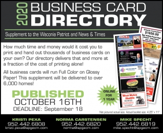 2020 Business Card Directory