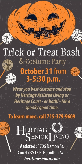 Trick or Treat Bash