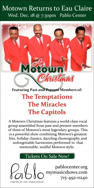 Motown Returns to Eau Claire