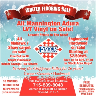 Winter Flooring Sale