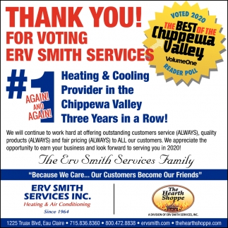 #1 Heating & Cooling Provider
