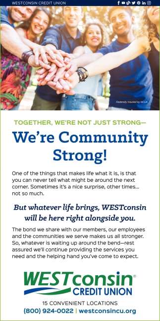 We're Community Strong