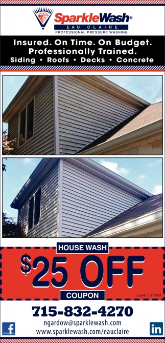Professional Pressure Washing