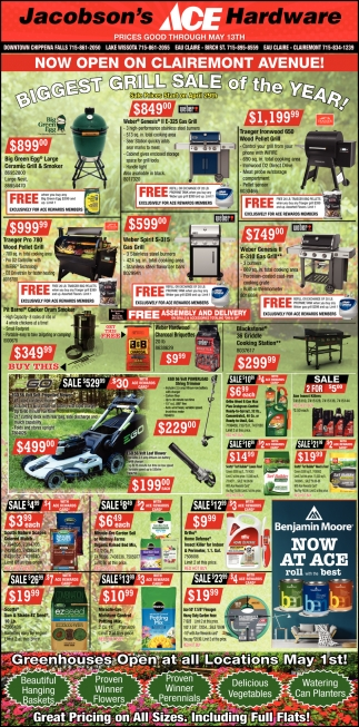 Biggest Grill Sale on the Year!