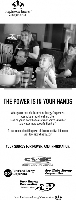 Your Energy Is in Your Hands