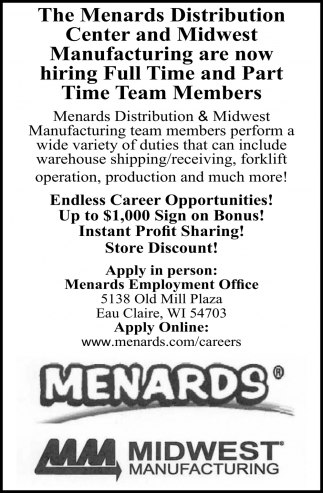 Hiring Full Time and Part Time Team Members