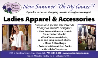 Ladies Apparel & Accesories