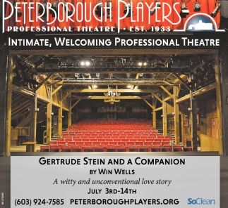 Intimate, Welcoming Professional Theatre