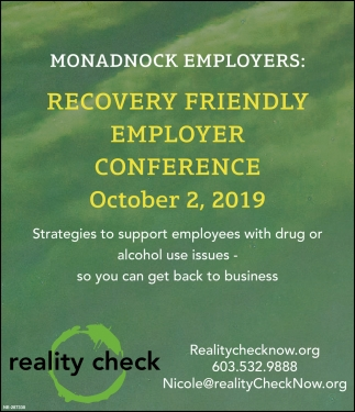 Recovery Friendly Workplace