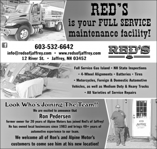Is Your Full Service Maintenance Facility!