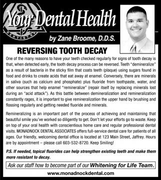 Reversing Tooth Decay
