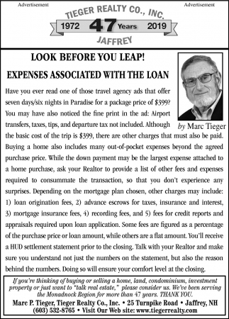 Expenses Associated With The Loan