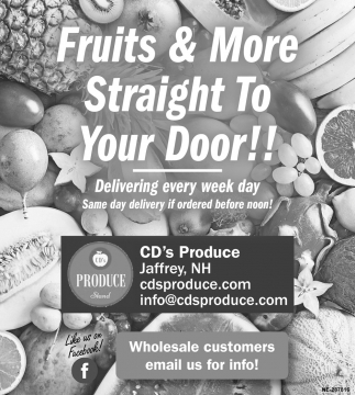 Fruits & More Straight To Your Door!!