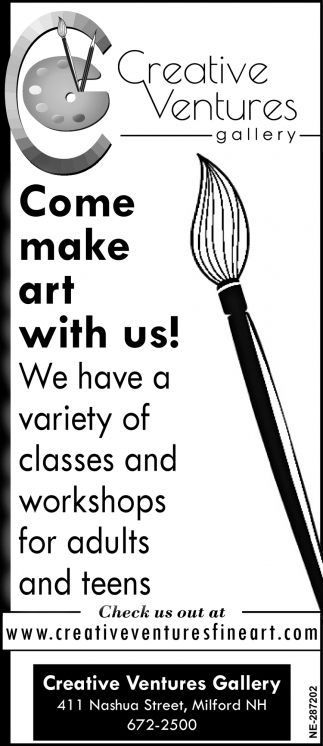 Come Make Art With Us!