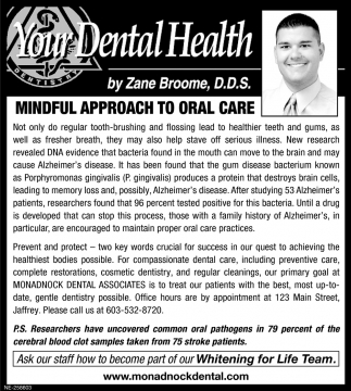 Mindful Approach To Oral Care