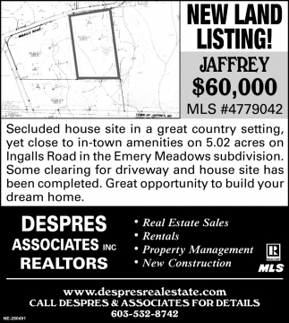 New Land Listing!
