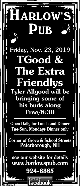 TGood & The Extra Friendly