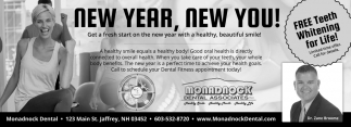 NEW YEAR, NEW YOU!