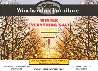 Winter Everything Sale